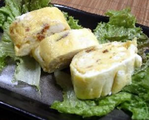 豆腐入り卵焼き
