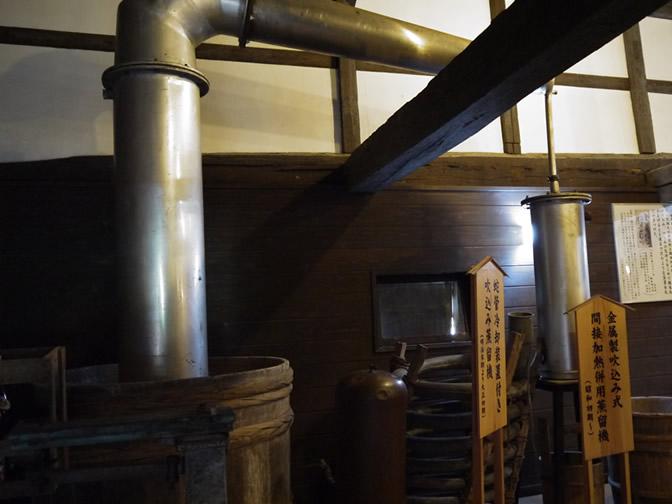 木桶蒸留機