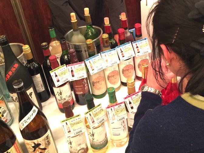 関西ワインコーナー