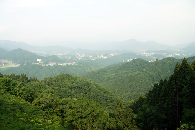 国見ケ丘から見える景色