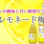 福岡県 研醸(株)より「レモネード梅酒」のご案内(発売中)