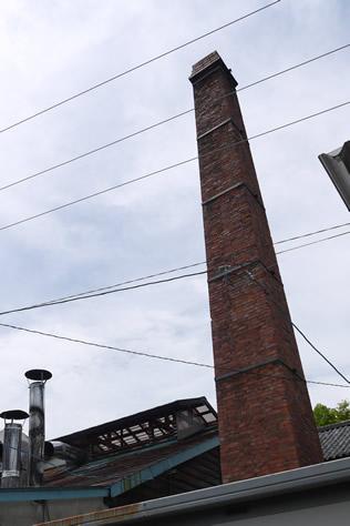 レンガ造り煙突